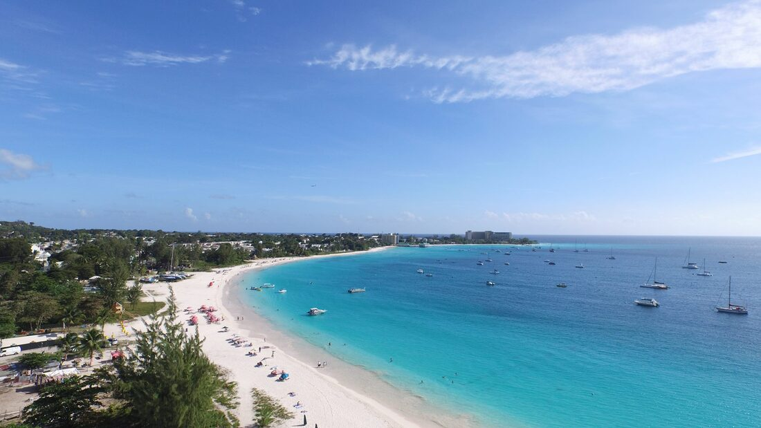 Swim venue: Barbados Open Water Festival: Carlisle Bay