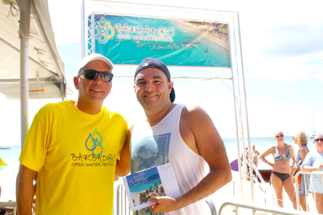 Diego Lopez at Barbados Open Water Festival