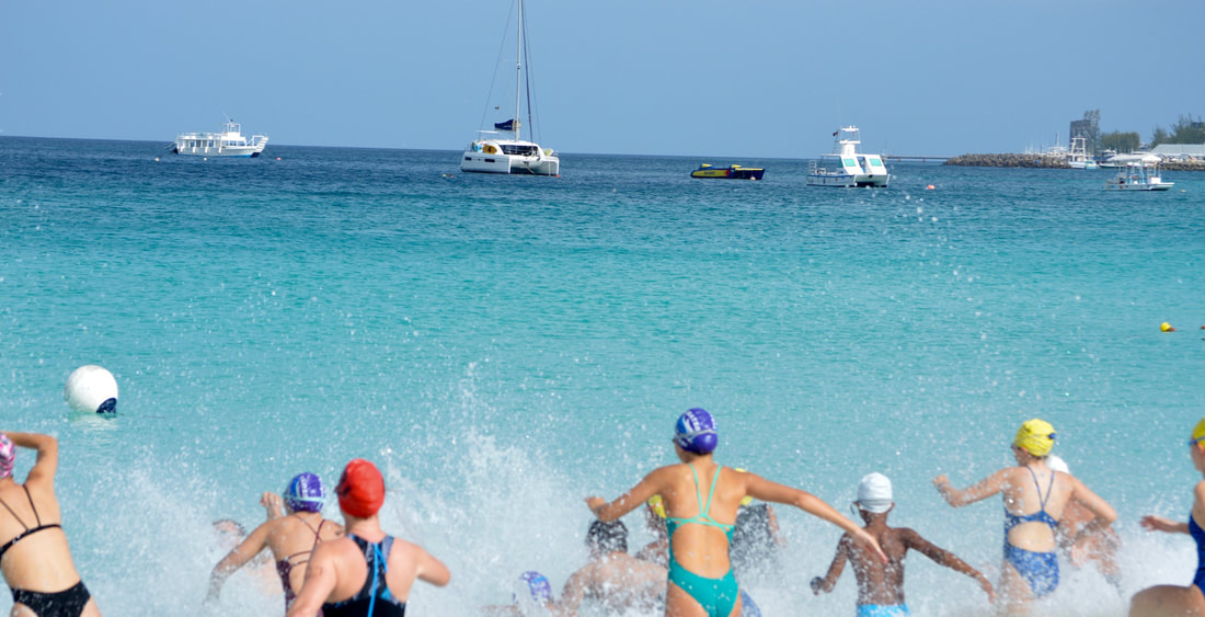 Open Wate Swim Carlisle Bay Barbados