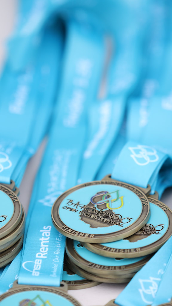 Barbados Open Water Festival 2018 Medals
