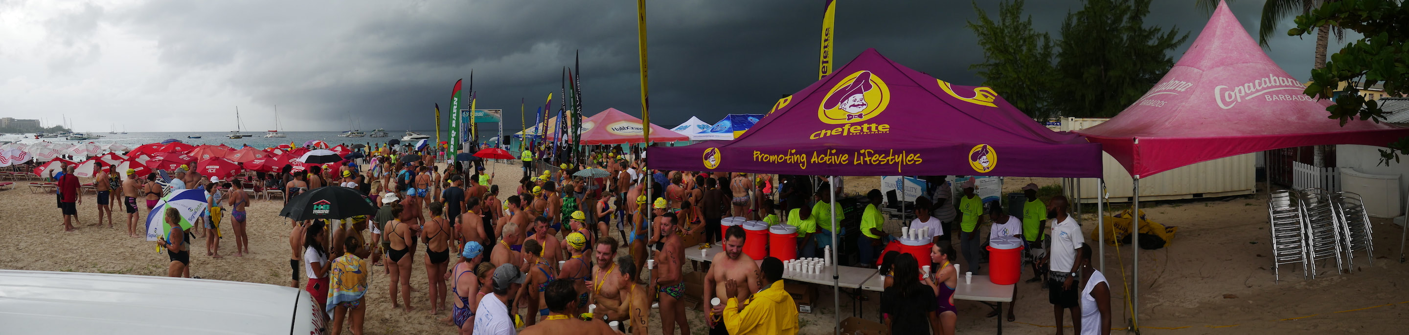 Barbados Open Water Festival 2019 - Cloudy Day
